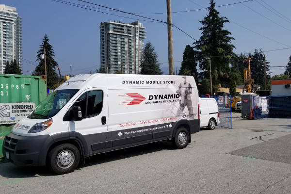 Contractor Supplies Delivery Services in Vancouver BC