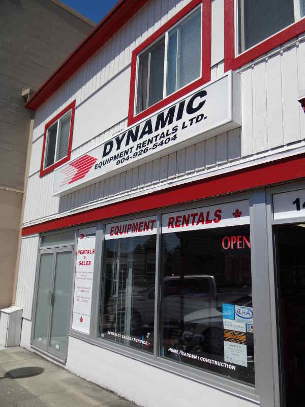 Dynamic Equipment Rentals LTD. Clyde Store