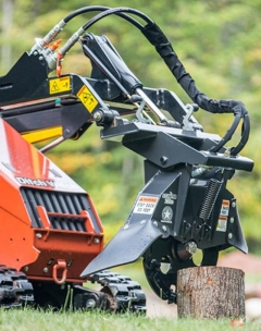 Rental store for STUMP GRINDER ATTACHMENT MINI SKIDSTEER in Vancouver BC