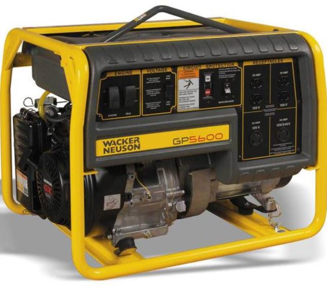 Where to find GENERATOR 5.6KW CONTRACTOR in Vancouver